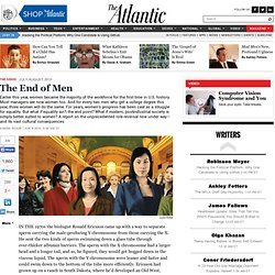 Magazine - The End of Men