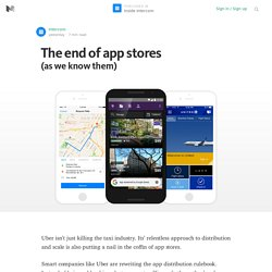 The end of app stores — Inside Intercom