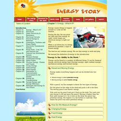 The Energy Story - Chapter 1: Energy - What Is It?