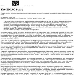 The ENIAC Story