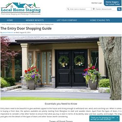 The Entry Door Shopping Guide