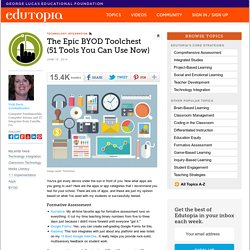 The Epic BYOD Toolchest (51 Tools You Can Use Now)