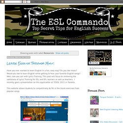 The ESL Commando: Resources