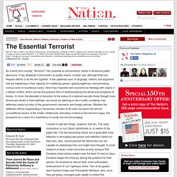 The Essential Terrorist