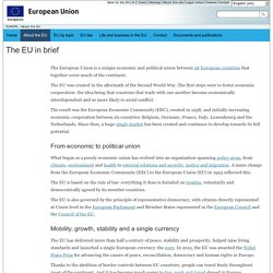 The EU in brief