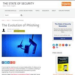 The Evolution of Phishing