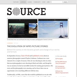 The Evolution of NPR's Picture Stories