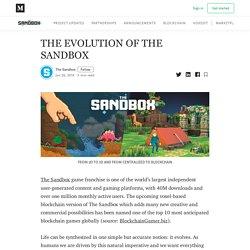 THE EVOLUTION OF THE SANDBOX - The Sandbox - Medium