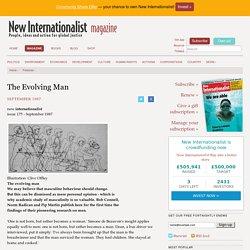 The Evolving Man