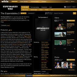 The Expendables 3 - Expendables Wiki