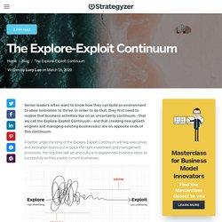 The Explore-Exploit Continuum