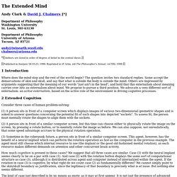 philosophy of mind chalmers pdf