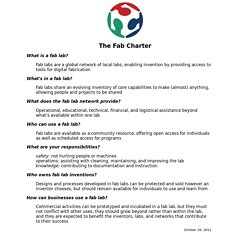 The Fab Charter