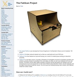 The FabScan Project