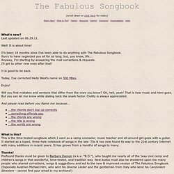 the fabulous songbook