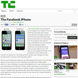 The Facebook iPhone