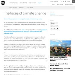 The ONE Blog | The faces of climate change