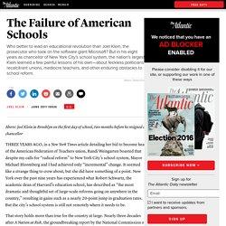 The Failure of American Schools - Magazine