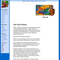 The Fall of Rome - Ancient Rome for Kids