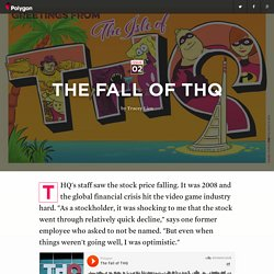 The fall of THQ