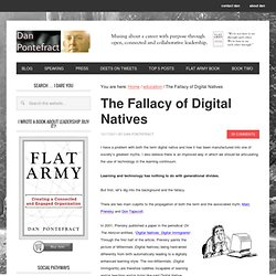 The Fallacy of Digital Natives