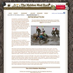 The Famous 'Maldon Mud Race'