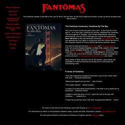 The Fantomas Website: Home