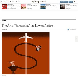 The Art of 'Farecasting' the Lowest Airfare