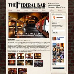 The Federal Bar » Events