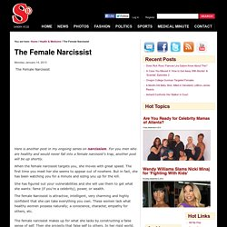 The Female Narcissist