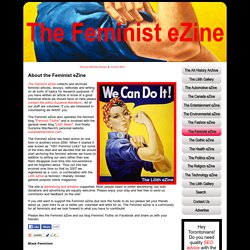 The Feminist eZine - StumbleUpon