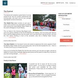 Merthyr Mawr Trail Running Festival - Saturday 15th July 2017