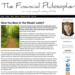 THE FINANCIAL PHILOSOPHER