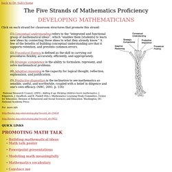 The Five Strands of Mathematics