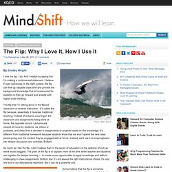 The Flip: Why I Love It, How I Use It