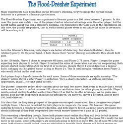 The Flood-Dresher Experiment