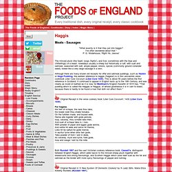 The Foods of England - Haggis