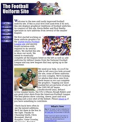The Football Uniform Site