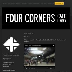 The Four Corners Cafe - how to find us