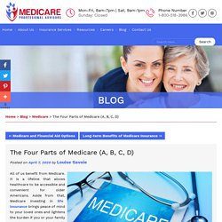 The Four Parts of Medicare (A, B, C, D)