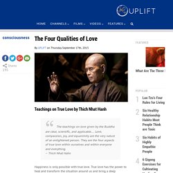 The Four Qualities of Love