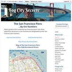 The San Francisco Piers: By the Numbers