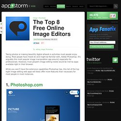 The Top 8 Free Online Image Editors