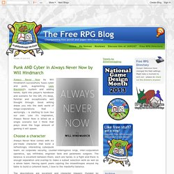 The Free RPG Blog