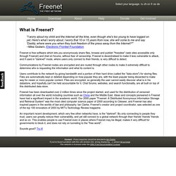 The Freenet Project - /whatis