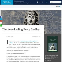 The freewheeling Percy Shelley
