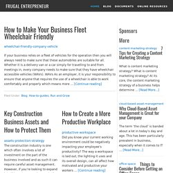 The Frugal Entrepreneur | Small Business Tips, Resources, & Frugality