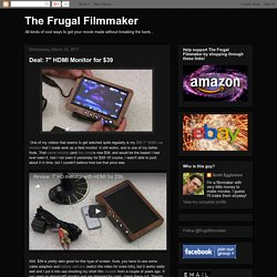 The Frugal Filmmaker
