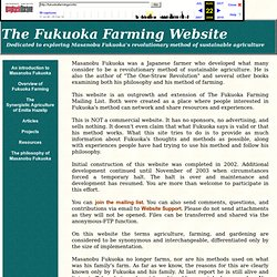 The Fukuoka Farming website