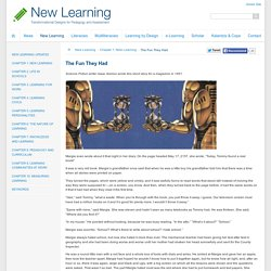 Chapter 1: New Learning